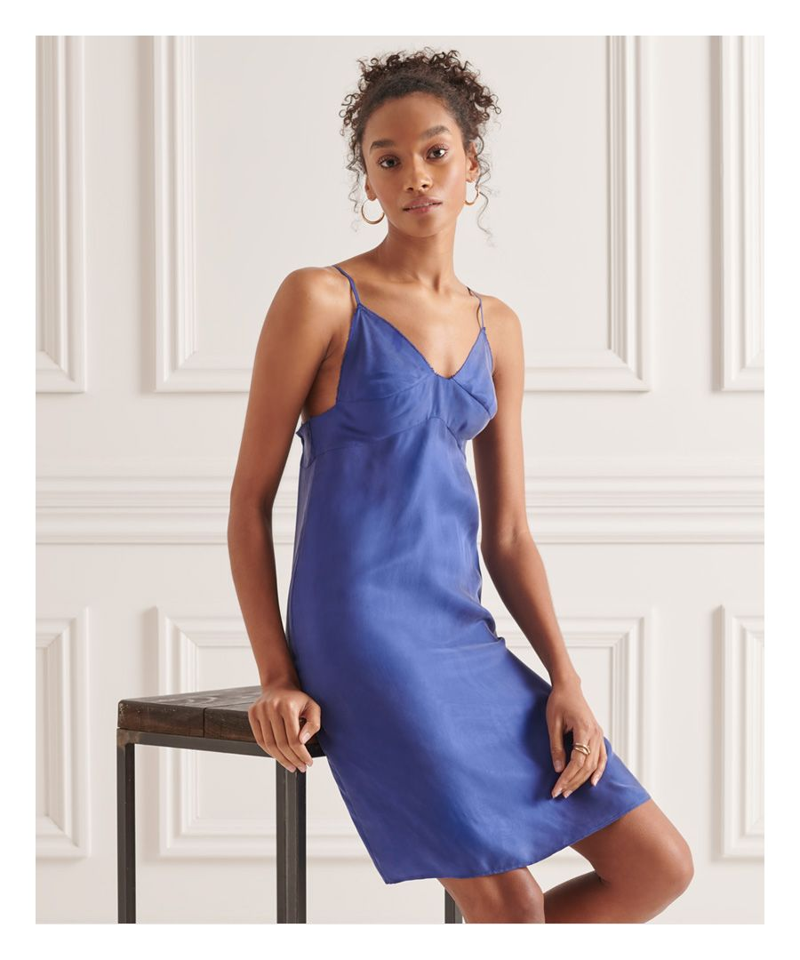Image for Superdry Cupro Cami Dress