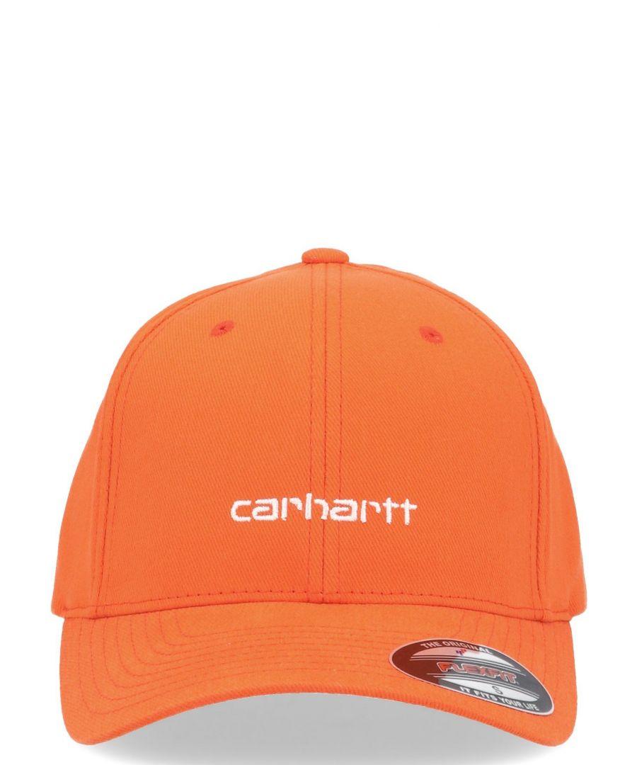 Image for CARHARTT MEN'S I02630903 ORANGE COTTON HAT
