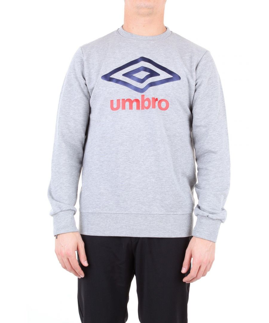 Image for UMBRO MEN'S 19ETPU0166GRIGIO GREY COTTON SWEATSHIRT