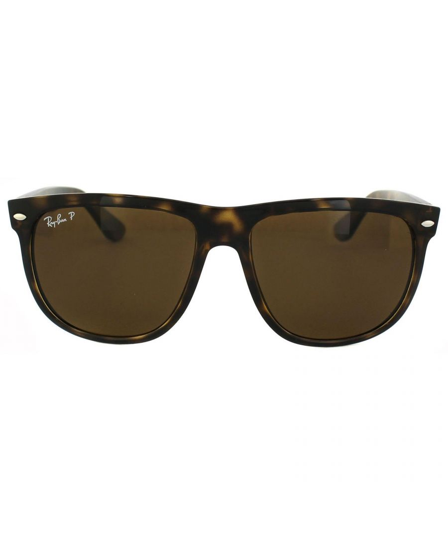 Image for Ray-Ban Sunglasses 4147 710/57 Tortoise Brown Polarized 60mm