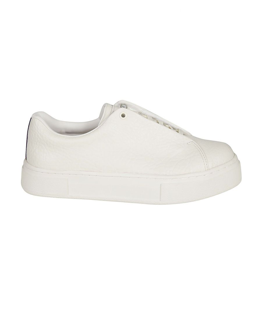 Image for EYTYS MEN'S DTW005WHITE WHITE LEATHER SNEAKERS
