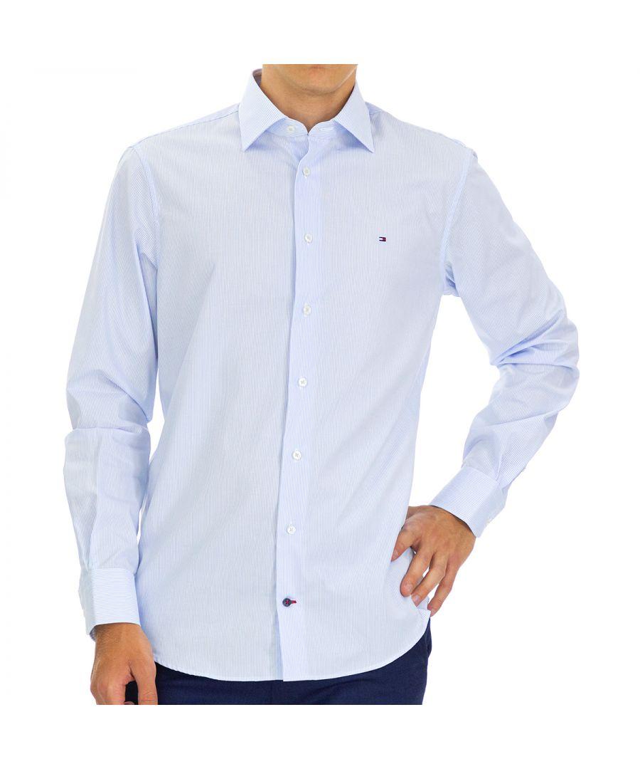 Image for Tommy Hilfiger Men's Shirt in Blue
