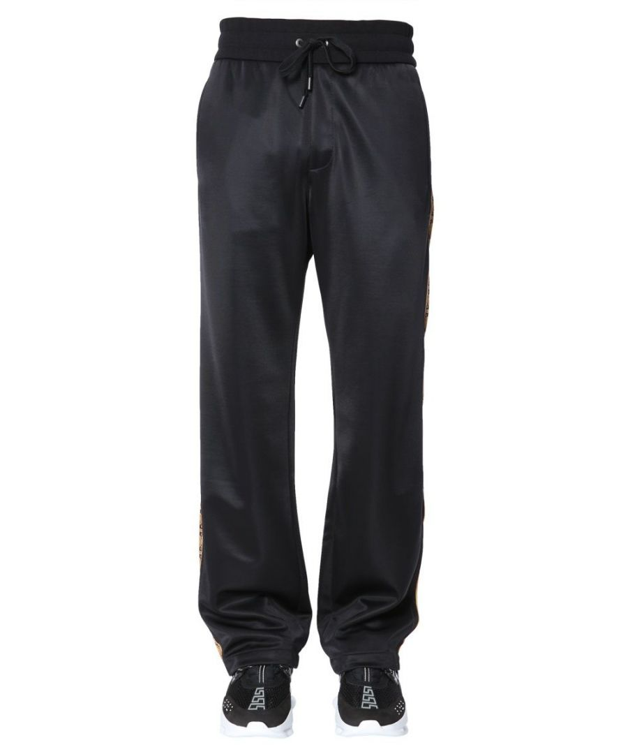 Image for VERSACE MEN'S A79816A226381A008 BLACK POLYAMIDE JOGGERS