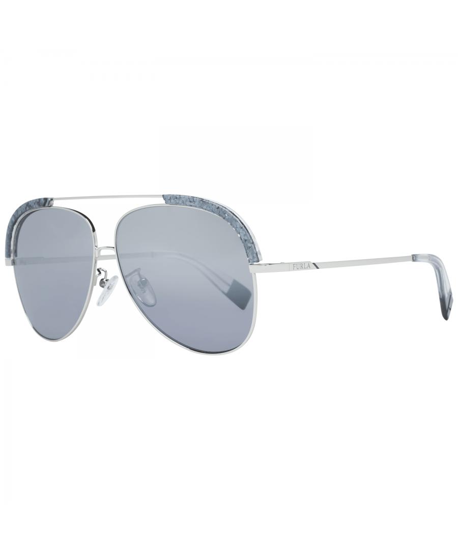 Image for Furla Sunglasses SFU284 579X 60 Women Silver