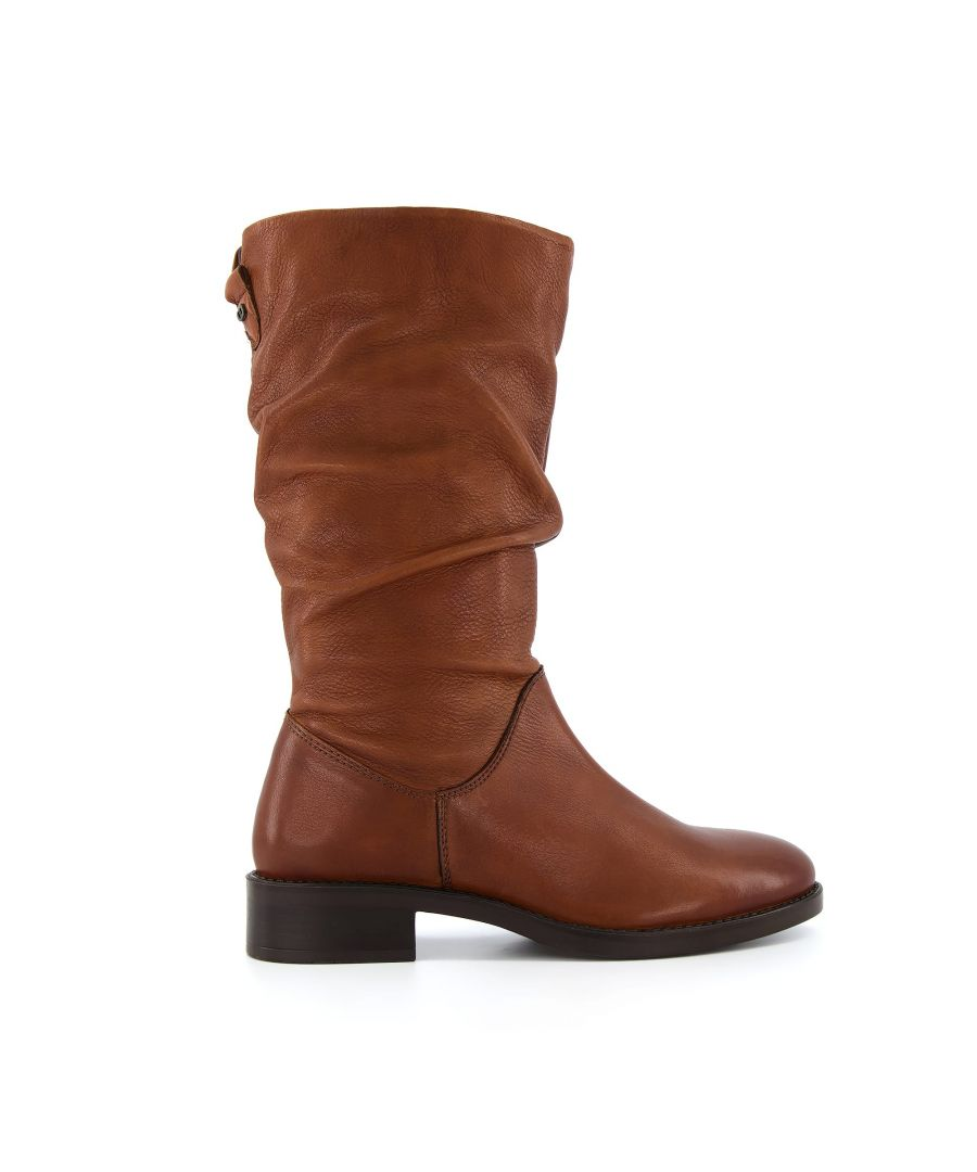 Image for Dune Ladies RYLING Ruched Calf Boots
