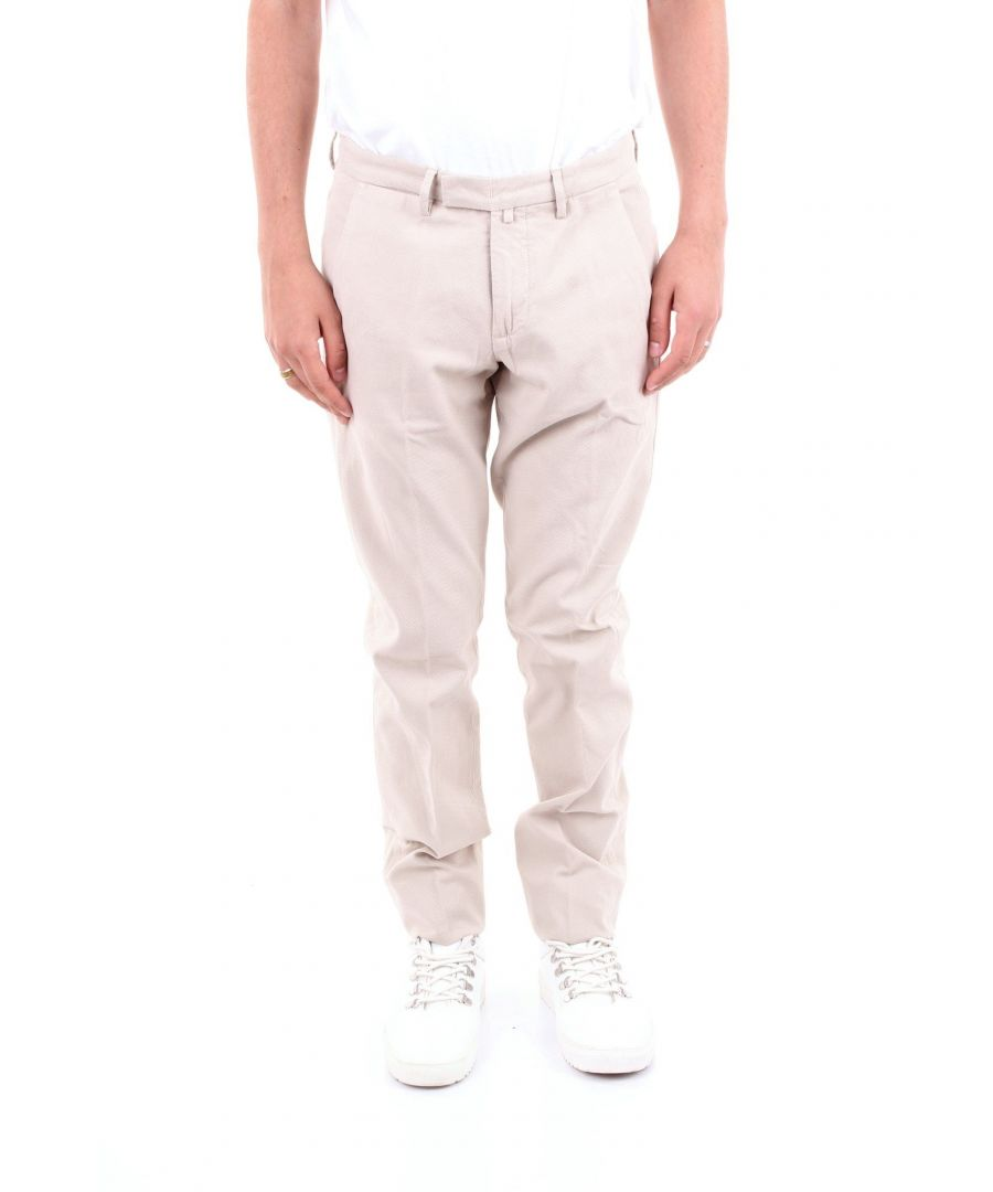 Image for BRIGLIA 1949 MEN'S BG0339577BEIGE BEIGE COTTON PANTS