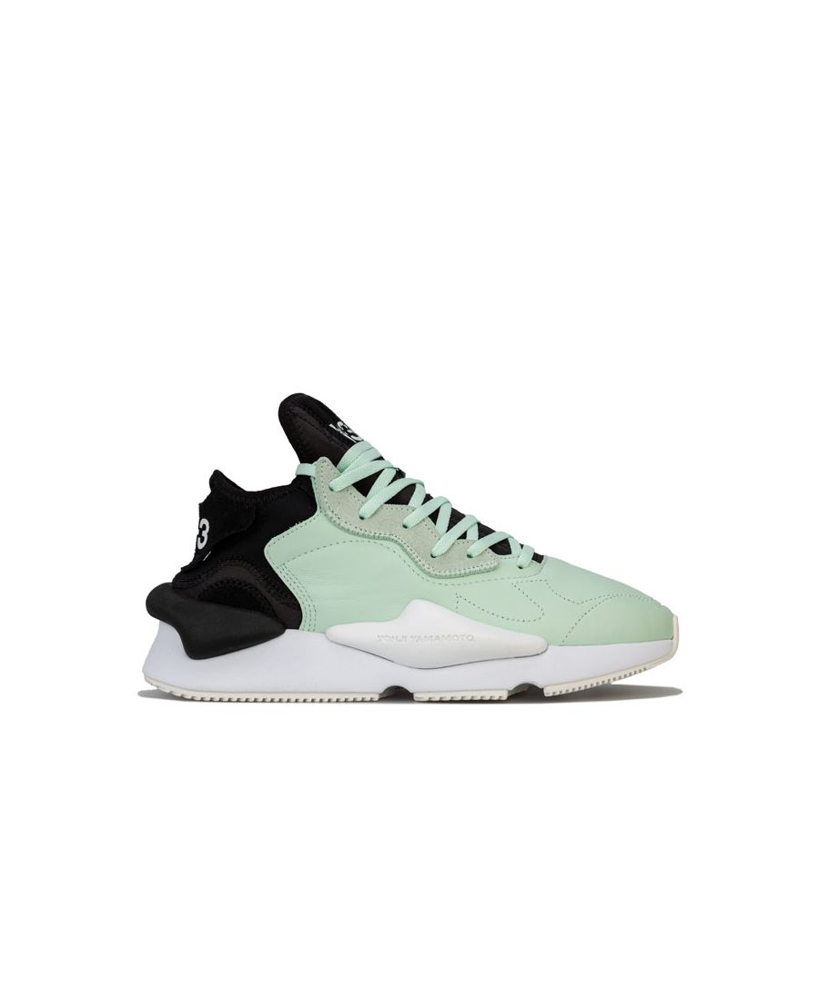 Image for Men's Y-3 Kaiwa Trainers in black green