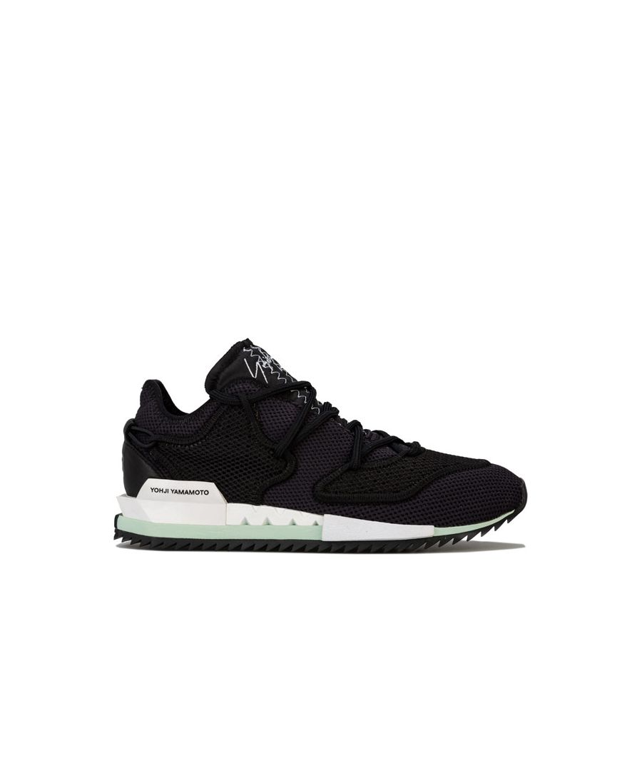 Image for Men's Y-3 Harigane II Trainers in Black-White