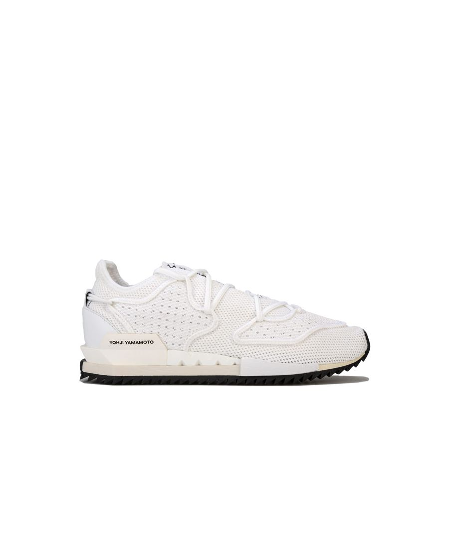 Image for Men's Y-3 Harigane II Trainers in White Black