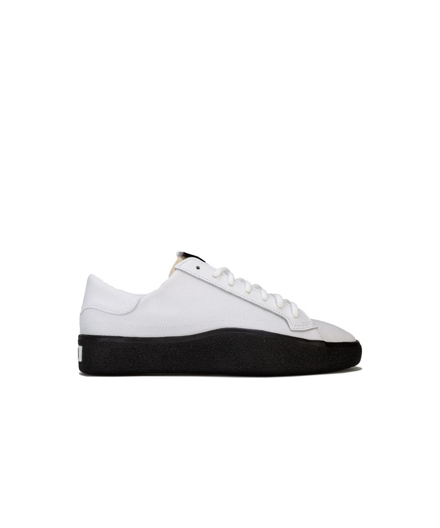 Image for Men's Y-3 Tangutsu Lace Trainers in White Black