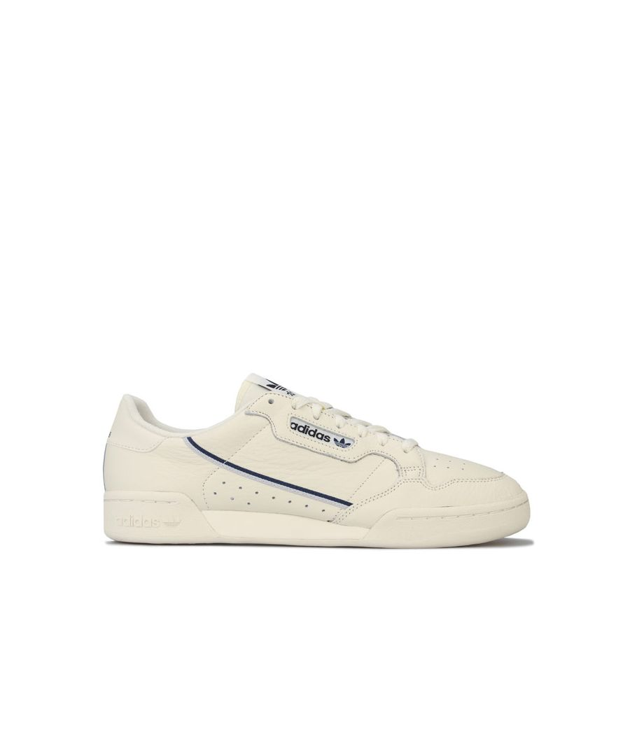 Image for Men's adidas Originals Continental 80 Trainers in White blue