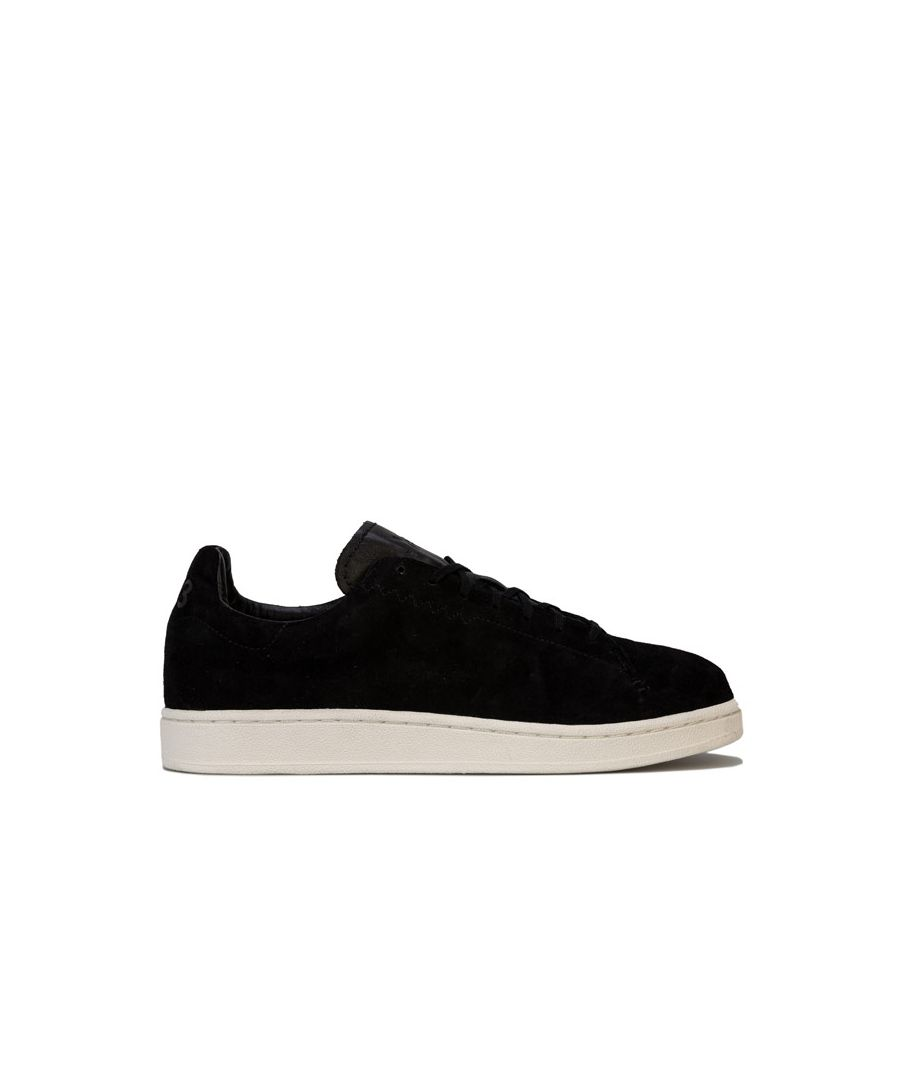 Image for Men's Y-3 Yohji Court Trainers in Black-White