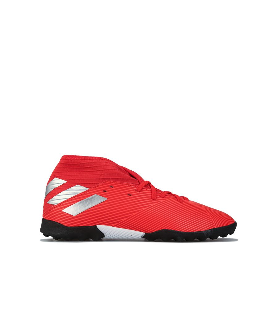 Image for Boy's adidas Junior Nemeziz 19.3 Astro Turf in Red