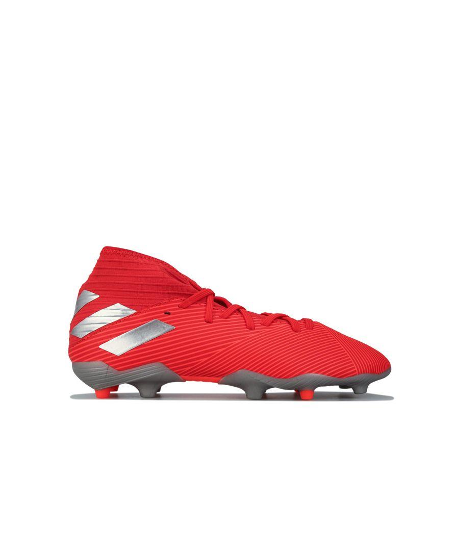 Image for Boy's adidas Junior Nemeziz 19.3 FG Football Boots in Orange