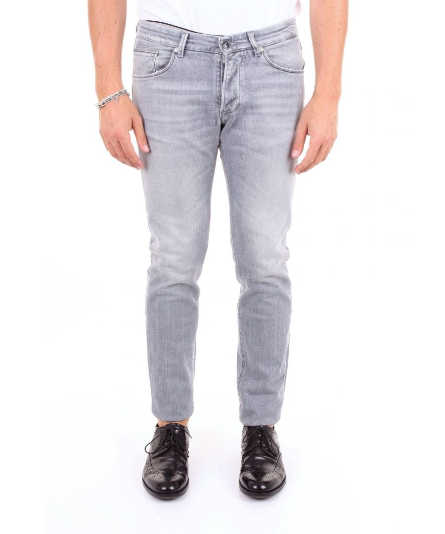 Image for MICHAEL COAL MEN'S DAVID1079LGRIGIO GREY COTTON JEANS