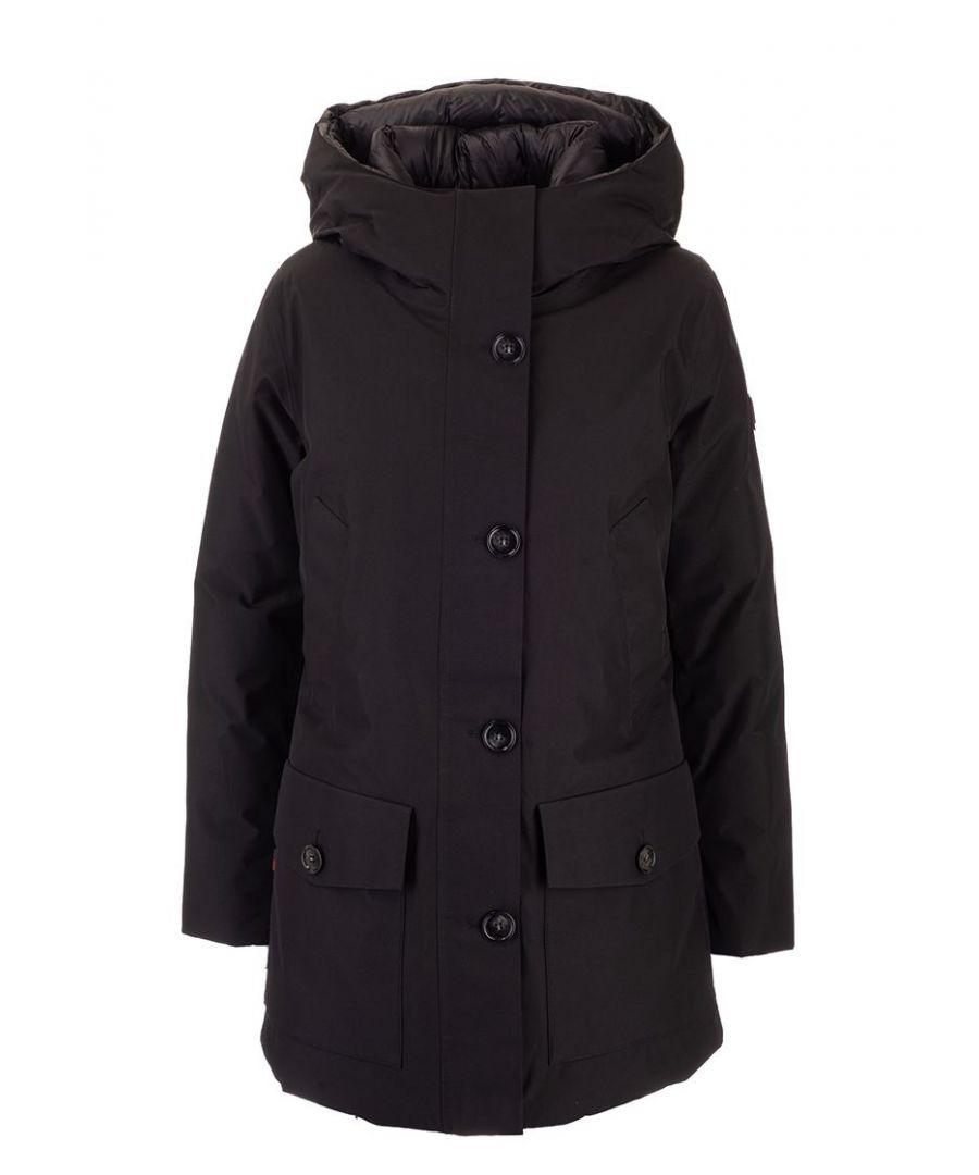 Image for WOOLRICH WOMEN'S WWCPS2826UT1229100 BLACK POLYAMIDE OUTERWEAR JACKET