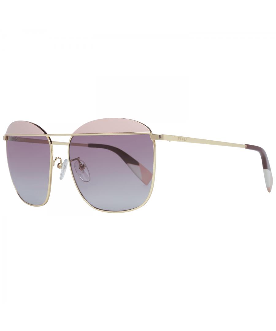Image for Furla Sunglasses SFU237 0323 59 Women Gold