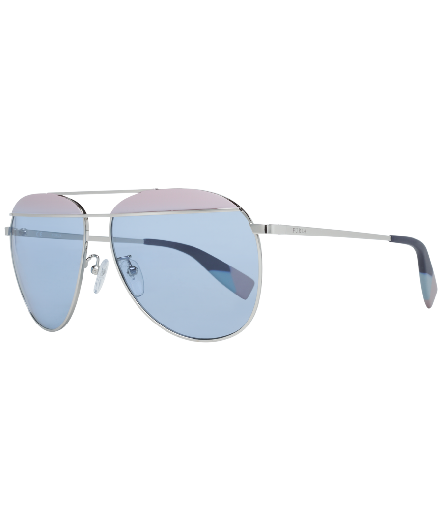 Image for Furla Sunglasses SFU236 0523 59 Women Silver