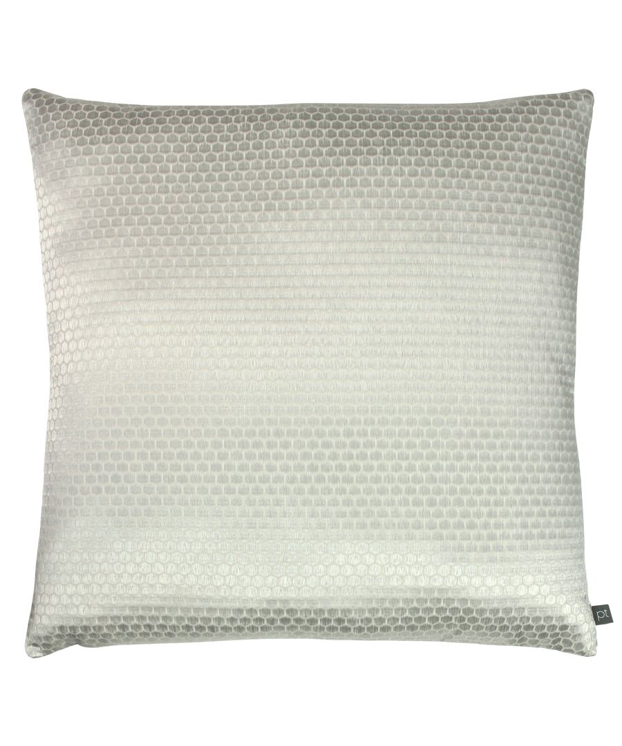 Image for Prestigious Textiles Emboss Polyester Filled Cushion, Polyester, Cotton, Feather