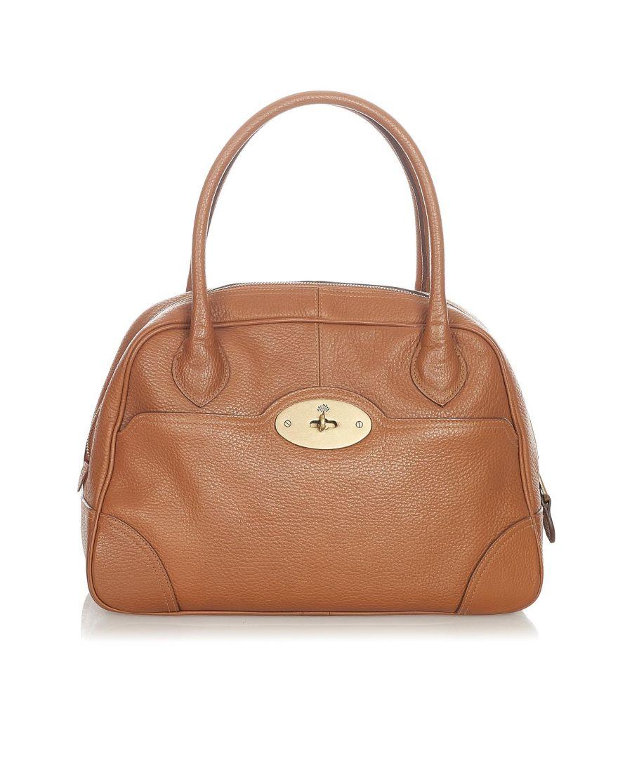 Image for Vintage Mulberry Leather Handbag Brown