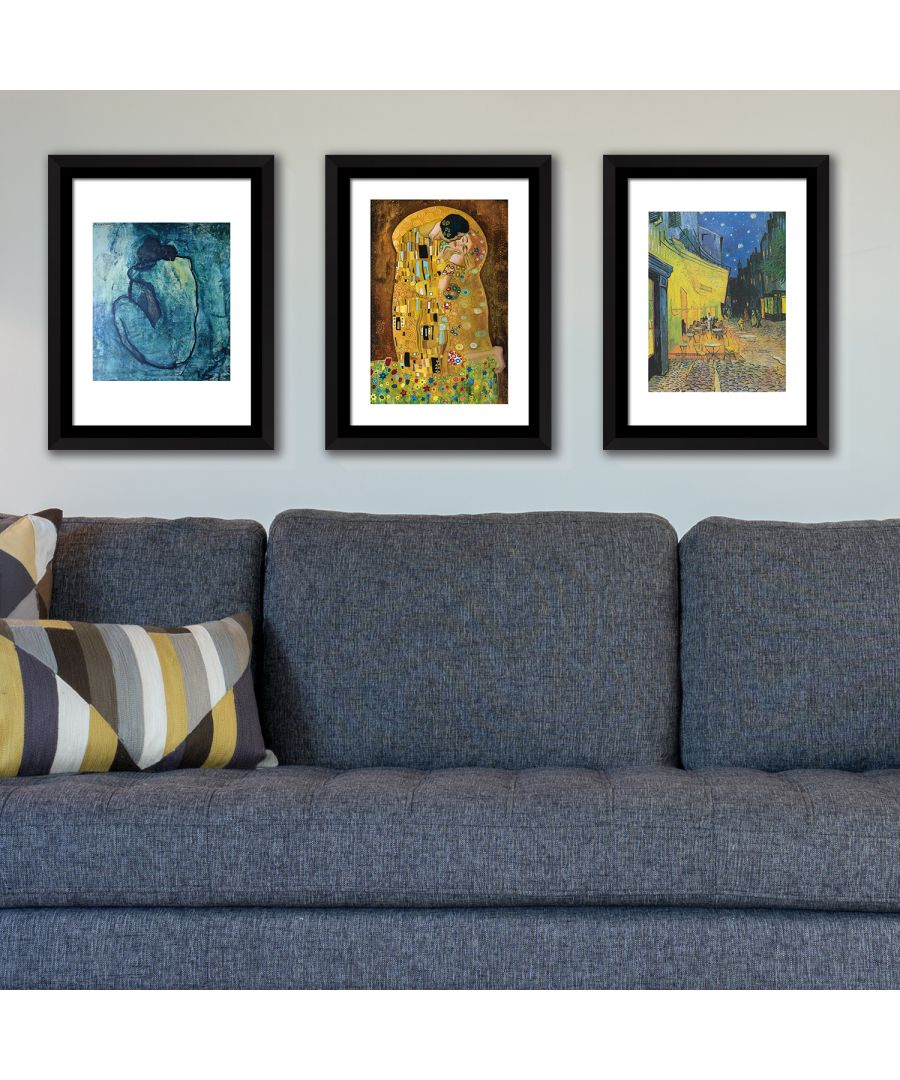 Image for FA5058 - COM - WS2121 + WS2120 + WS2119 + FR030 - Framed Art Famous paintings