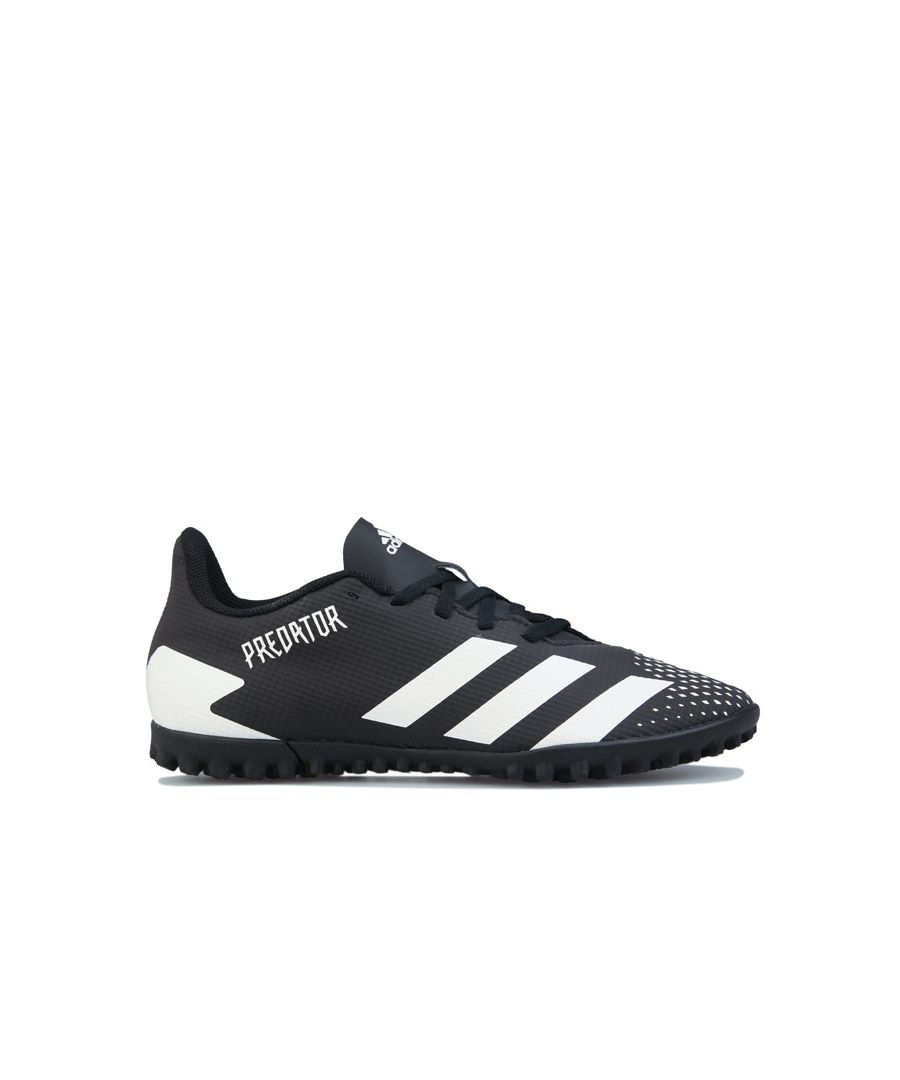 Image for Men's adidas Predator Mutator 20.4 Turf Football Boots in Black-White