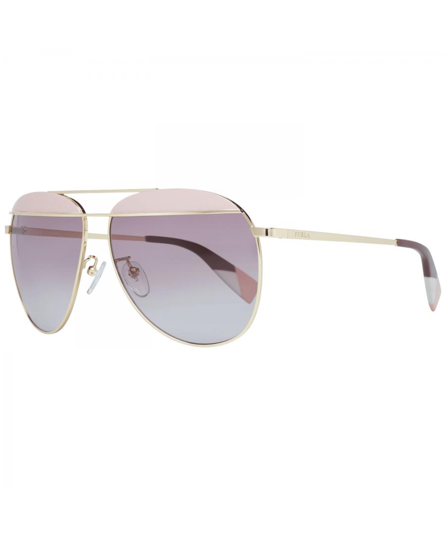 Image for Furla Sunglasses SFU236 0323 59 Women Gold