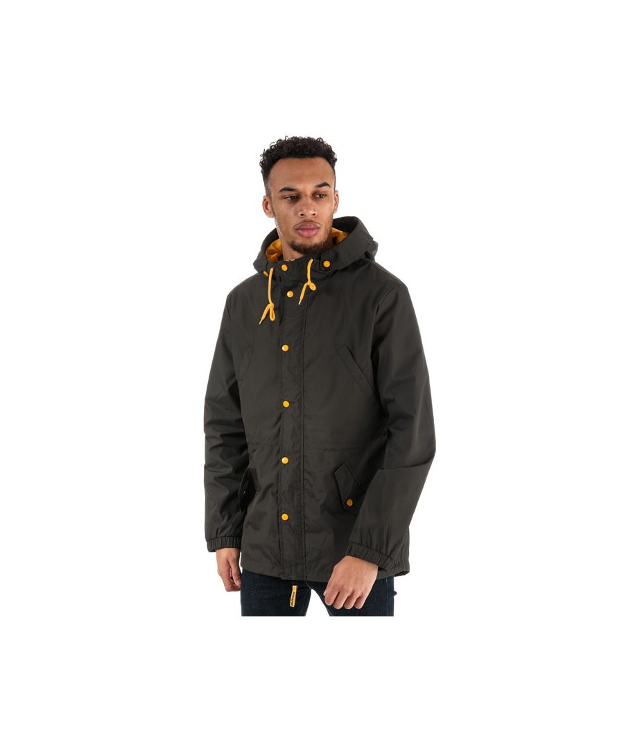Image for Men's Ringspun Faun Cotton Twill Parka in Green