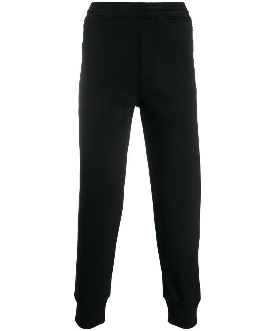 Image for NEIL BARRETT MEN'S PBJP147SM5051076 BLACK VISCOSE JOGGERS