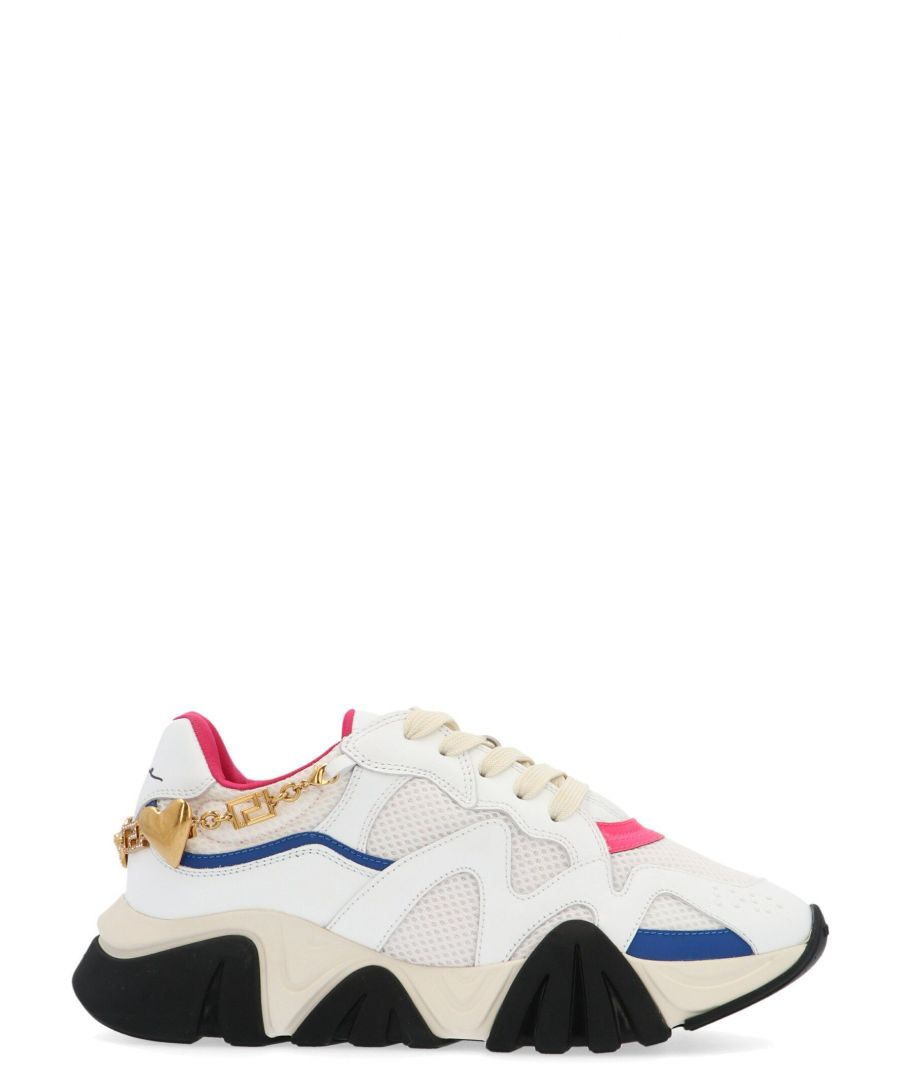 Image for VERSACE WOMEN'S DST116GD16TVDBFT WHITE POLYESTER SNEAKERS