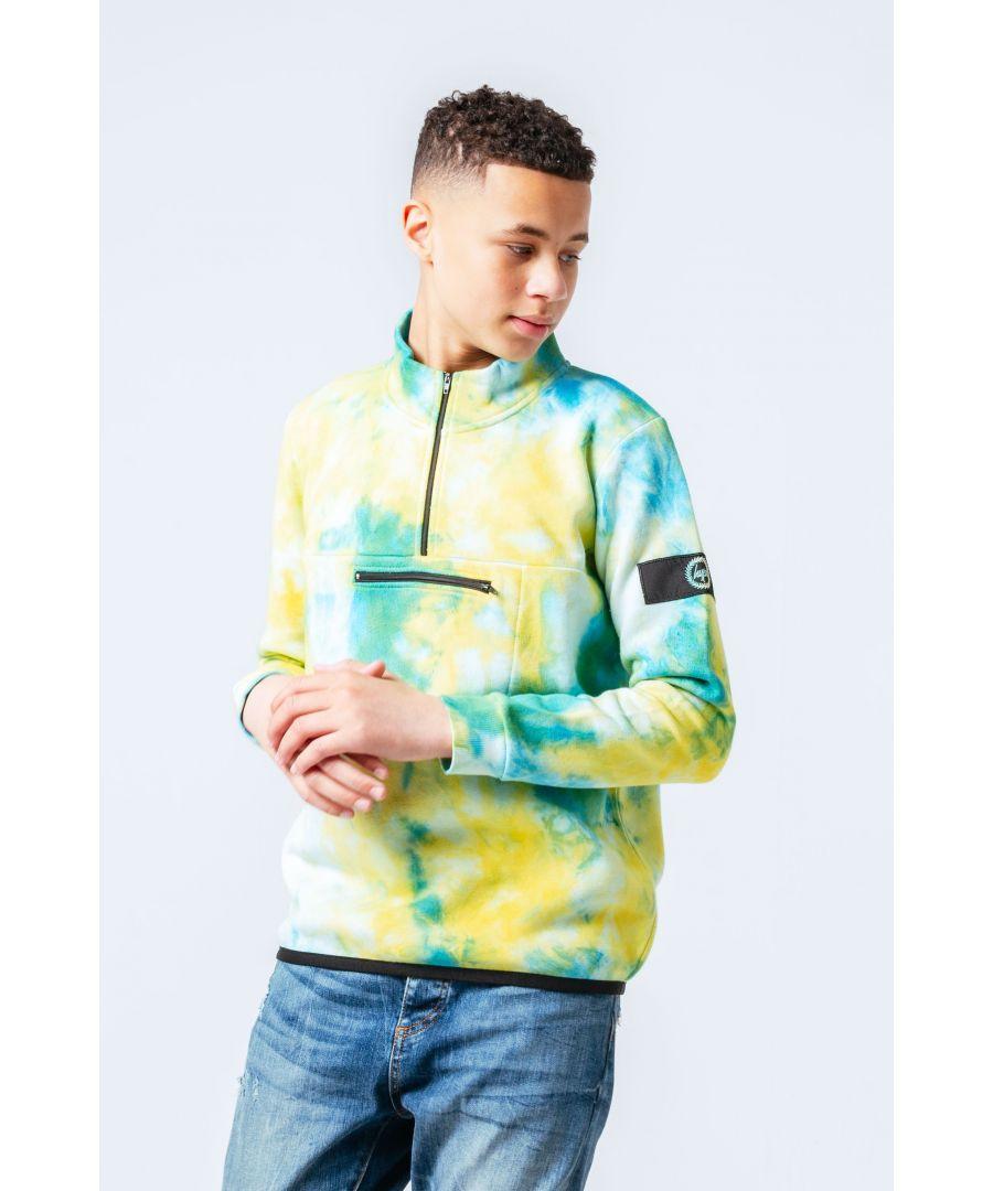 Image for Hype Ocean Dye Kids Fleece