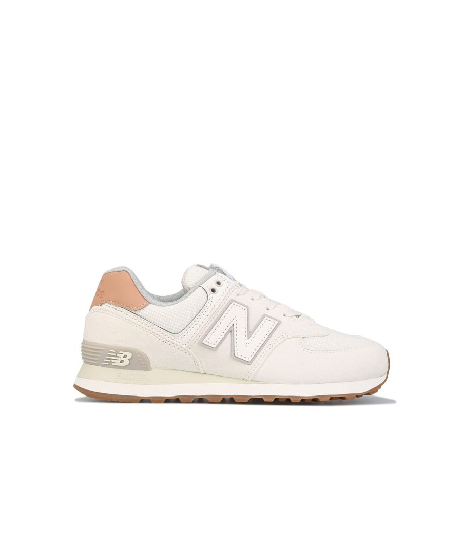 Image for Women's New Balance 574 Trainers in Natural