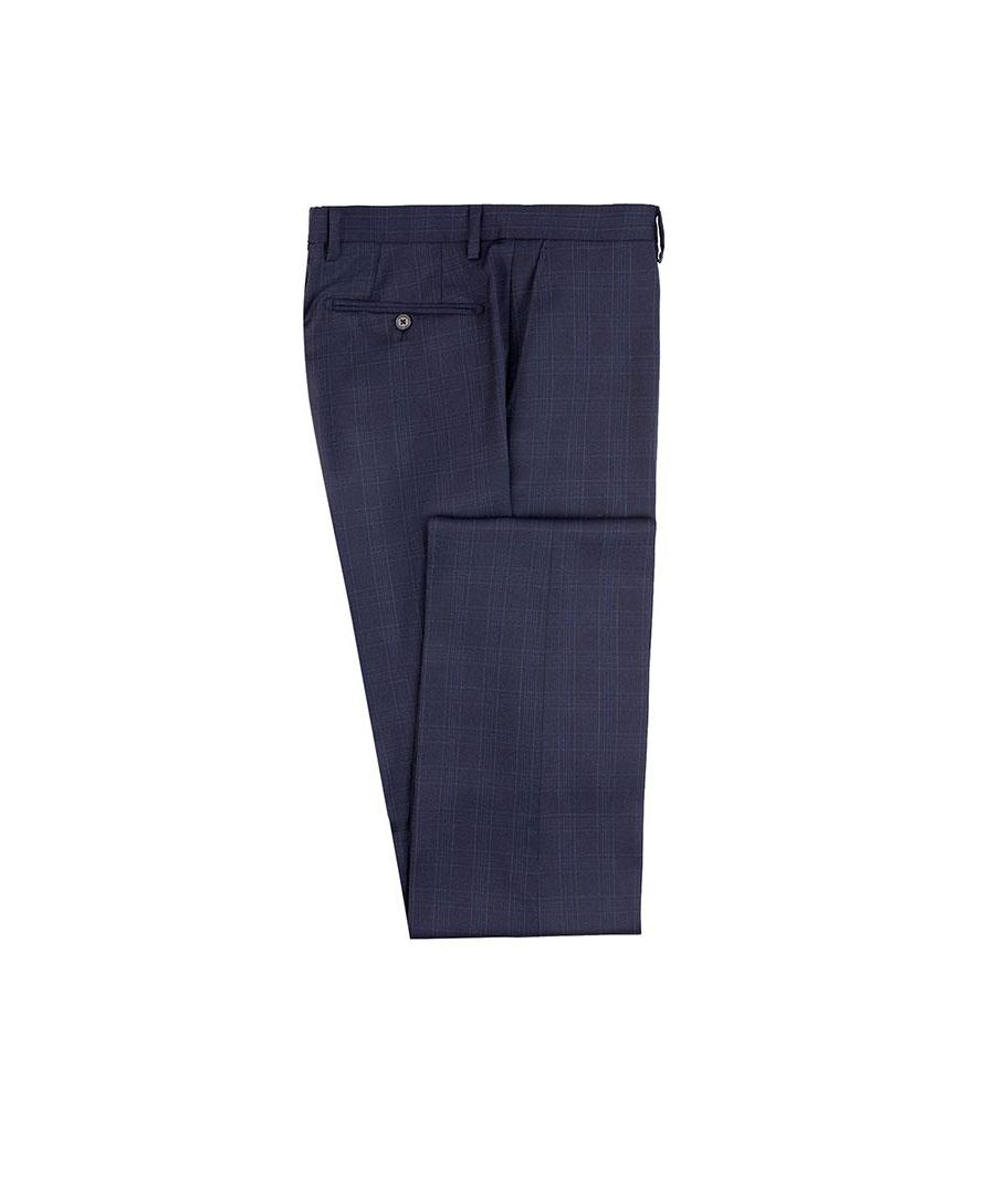Image for Men' Hackett, Classic Navy Check Trousers
