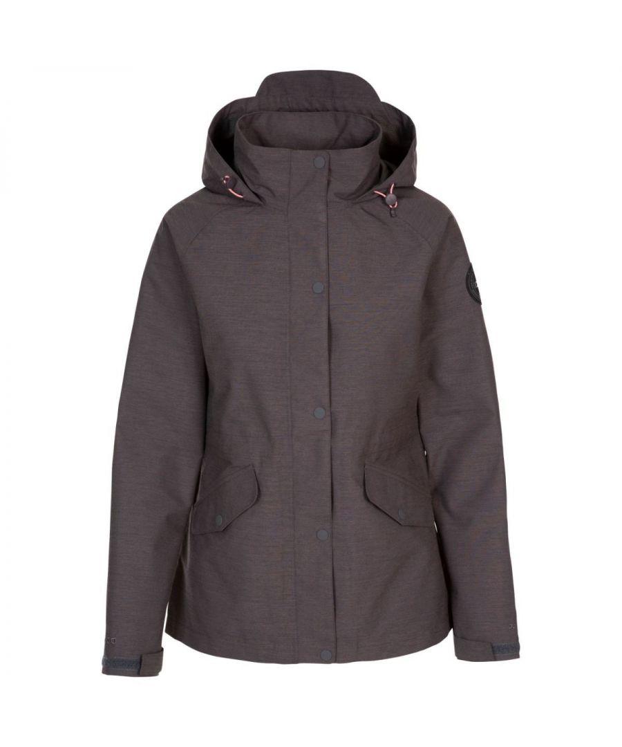 Image for Trespass Womens/Ladies Hannah DLX Jacket (Dark Grey Marl)