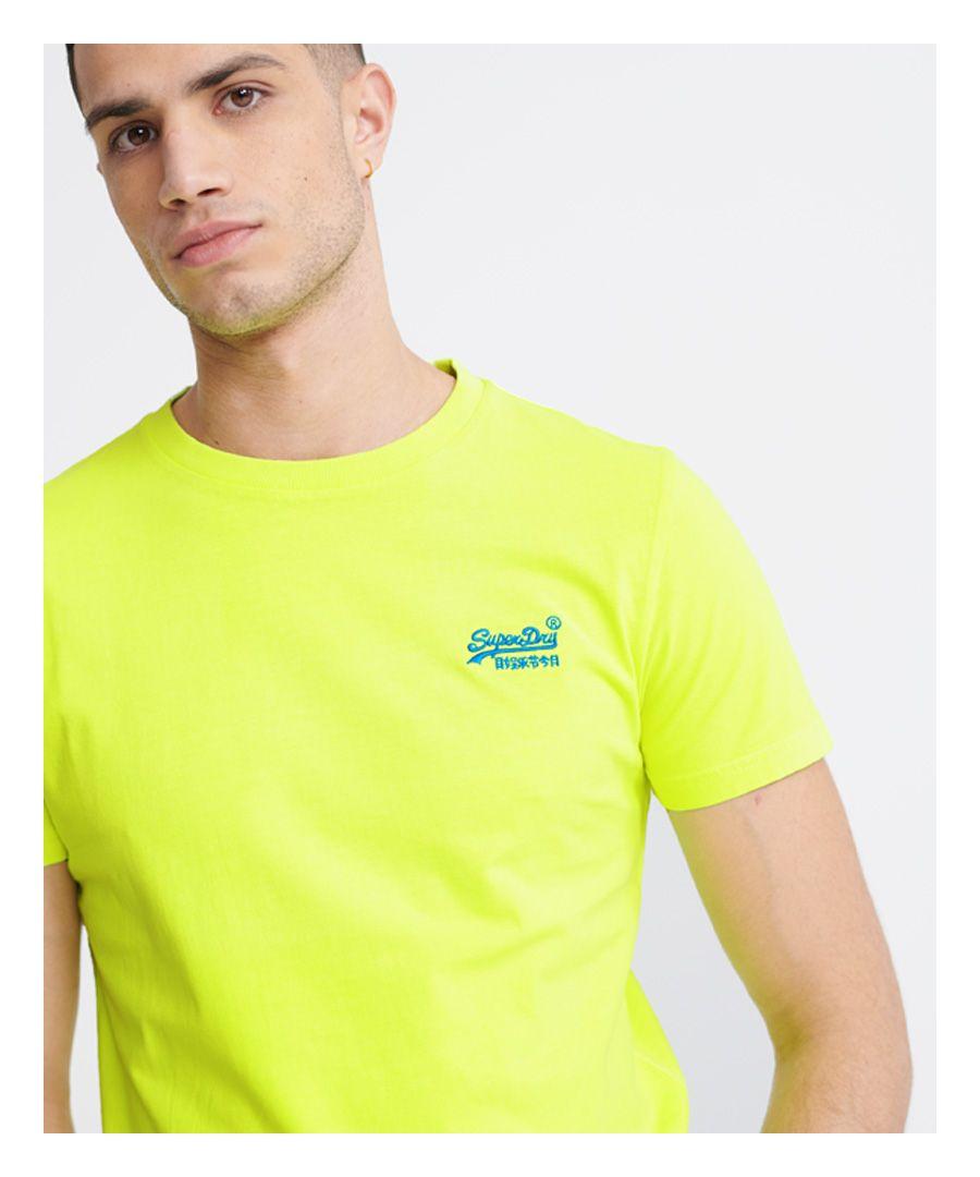 Image for Superdry Orange Label Neon Lite T-Shirt