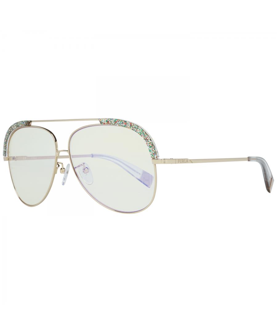 Image for Furla Sunglasses SFU284 300X 60 Women Gold