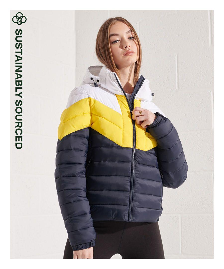 Image for Superdry Colour Block Fuji Jacket