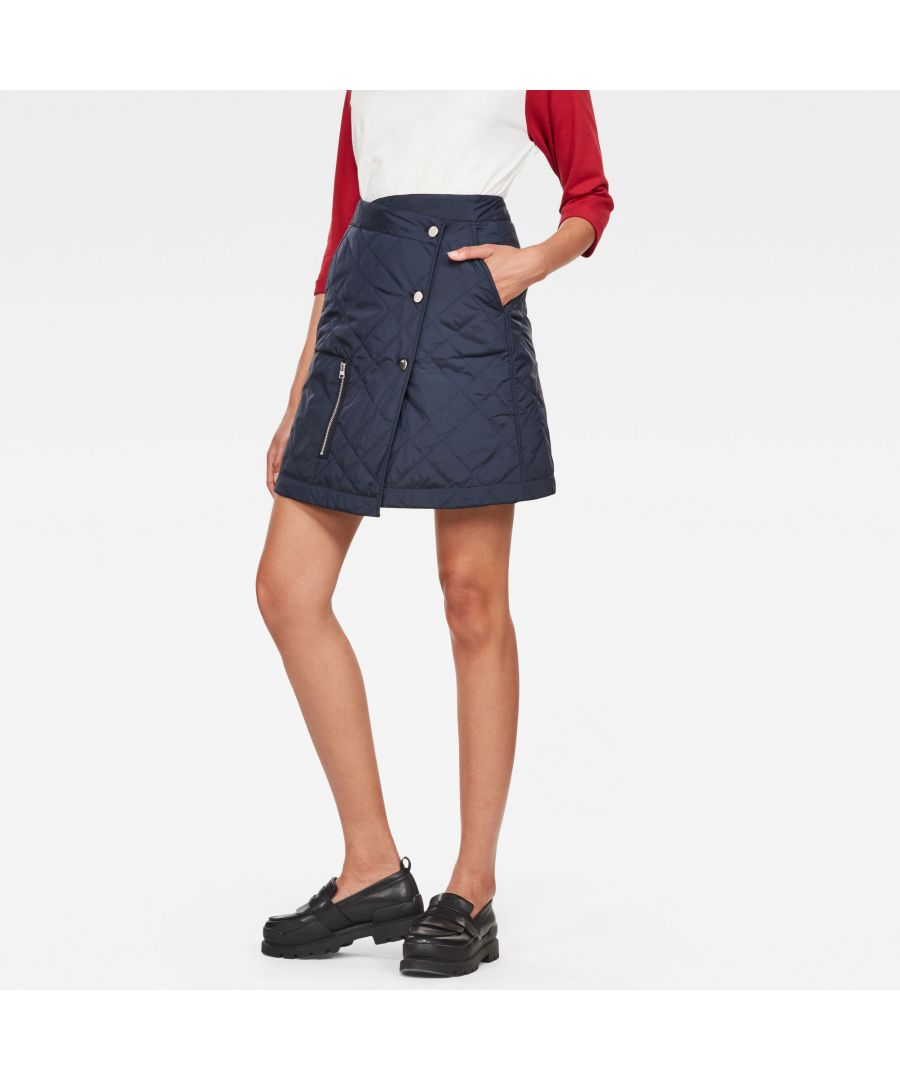 Image for G-Star Raw Powel Quilted Wrap Skirt