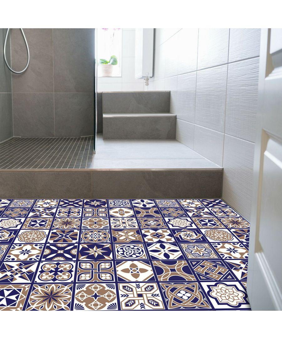 Image for WFS6007 - Royal Tiles Floor Sticker 120cm x 60 cm