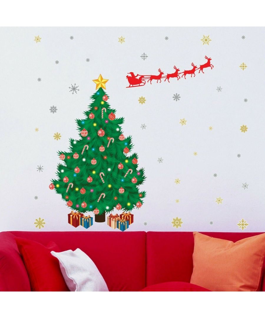Image for WFXC8306 - COM - WS9064 + WS3323 - Santa's Sleigh Christmas Tree