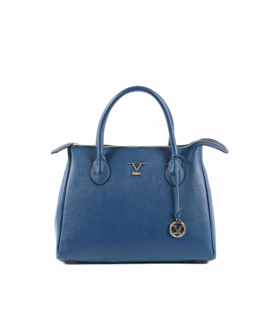 Image for 19V69 Italia Women's Handbag Blue Ve1998 Dollaro Blue Jeans