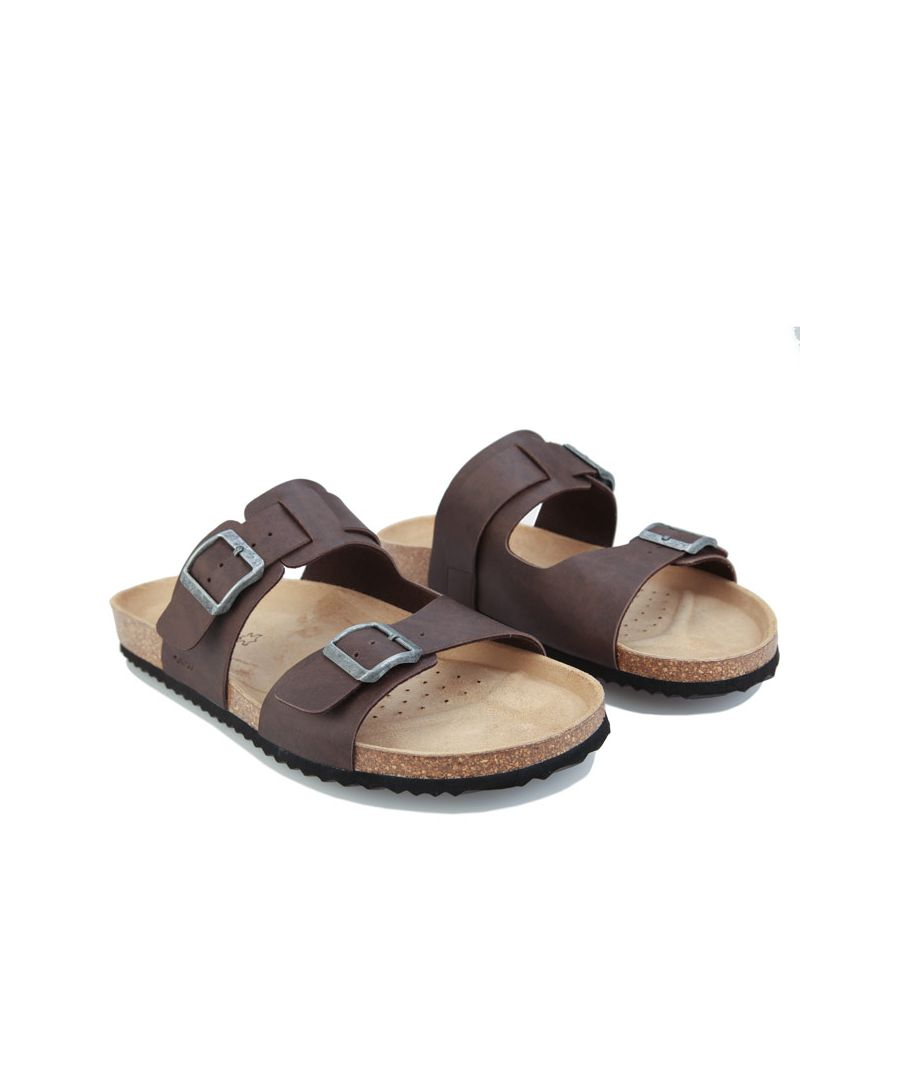 Image for Men's Geox Ghita Sandals in Dark Brown