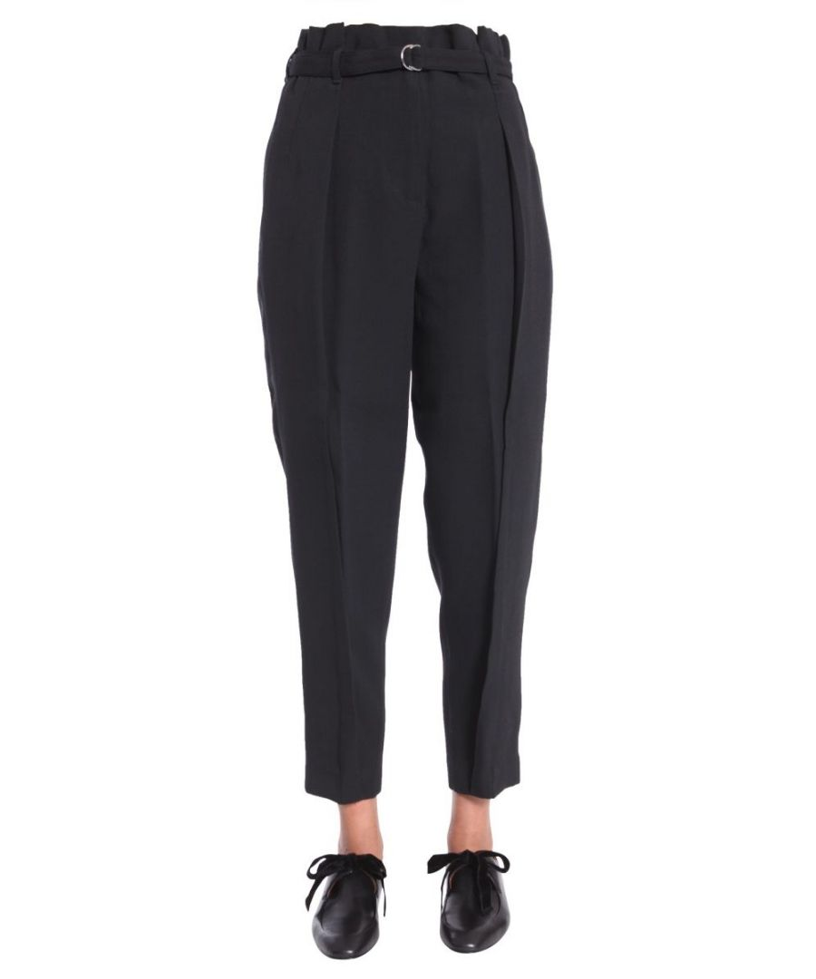 Image for 3.1 PHILLIP LIM WOMEN'S F1715275VCRBA001 BLACK VISCOSE PANTS