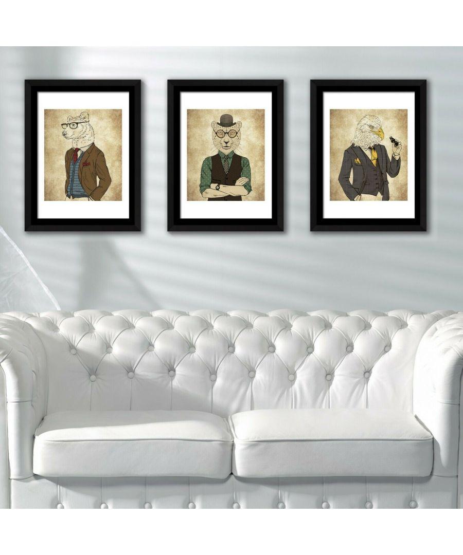Image for Framed Art Animals Fashion Framed Photo, Framed Art