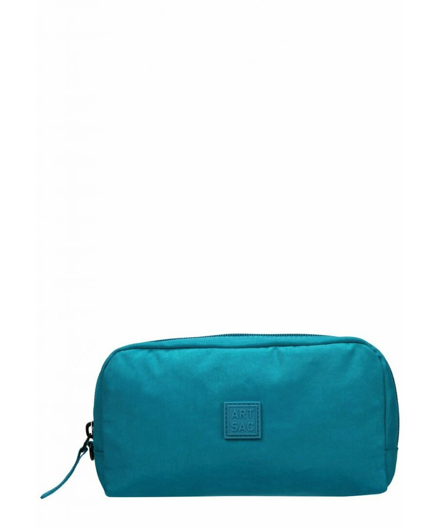 Image for SMALL ZIP TOP SECTIONED WRISTLET/POUCH