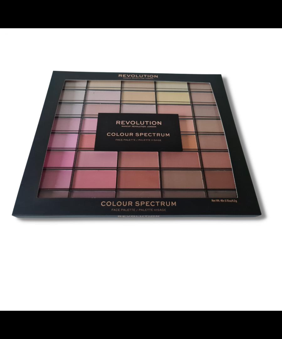 Image for Revolution Makeup London Colour Spectrum Face Palette - 40 Shades
