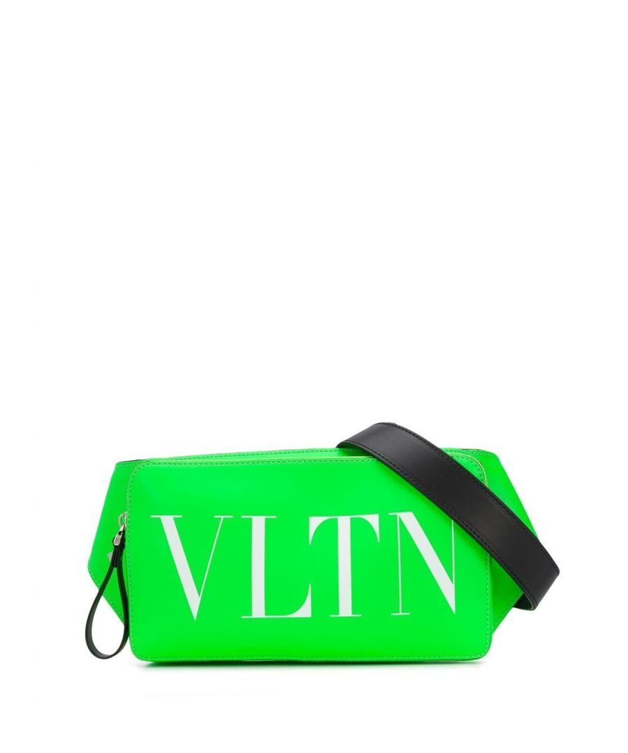 Image for VALENTINO MEN'S TY0B0719LNG23H GREEN LEATHER BELT BAG