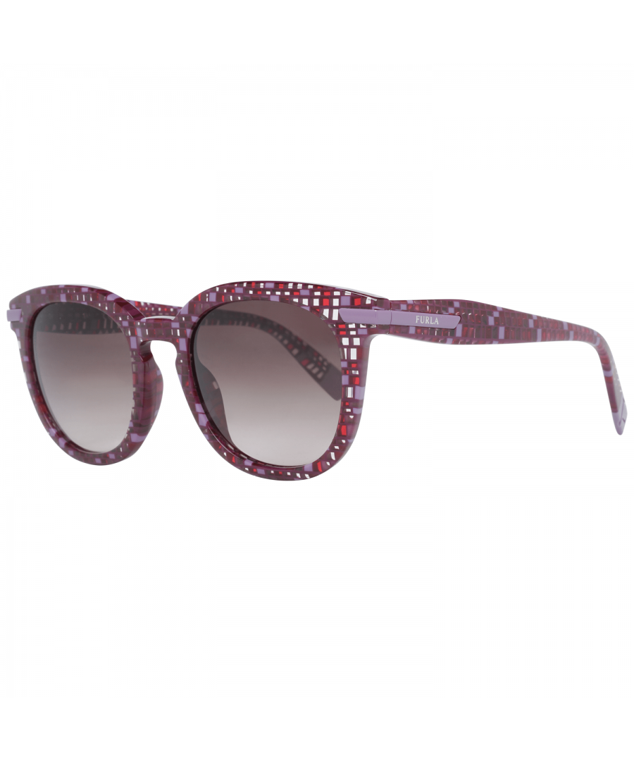 Image for Furla Sunglasses SFU036 0GB4 49 Women Burgundy
