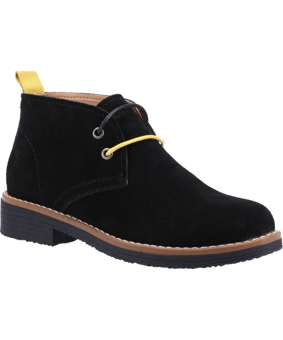 Image for Hush Puppies Women's Marie Suede Ankle Boots (Black)