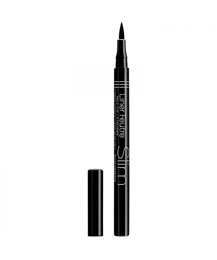 Image for Bourjois Paris Liner Feutre Liquid Slim Eyeliner Felt Pen - 16 Black